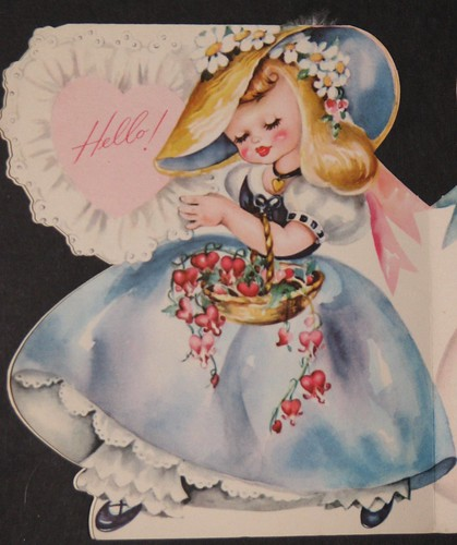 Vintage Valentine's Day Card 007