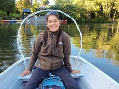 Nat dans la barque