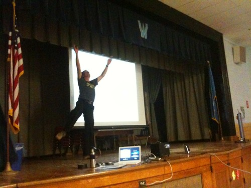 Randy Barron at Wilson Elementary School in Oklahoma City