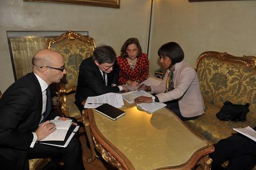 Incontro privato con l'Ambasciatore di Haiti