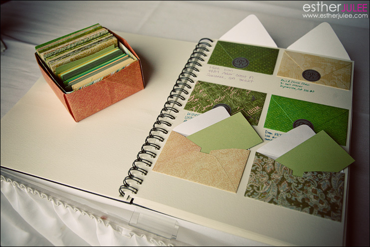esther julee guestbook ideas
