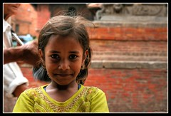 Future - Patan - NEPAL (markgreat) Tags: old nepal people brick textura colors girl contrast cores lens asia arte mark think colores textures filter contraste sorriso criana smirk lente menina tijolo greathouse filtro