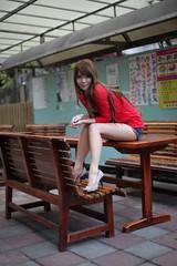 @  1152 (^o^y) Tags: woman girl lady asian model taiwan showgirl ntu sg taiwanese