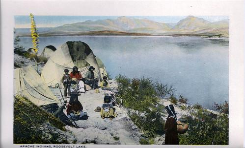 Apache Indians, Roosevelt Lake
