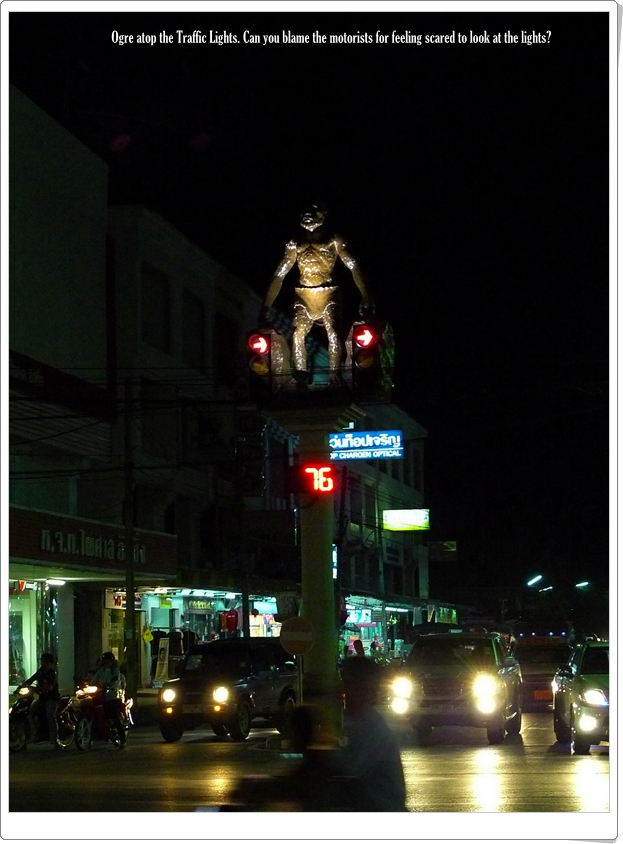 Krabi Town Ogre Traffic Lights