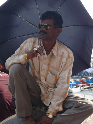 Character at Gateway of India, South Mumbai