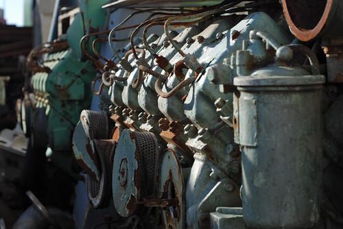 Junkyard Diesels
