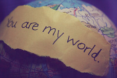 You are my world. (dimplyemily) Tags: