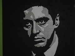 godfather painting by Chewstroke