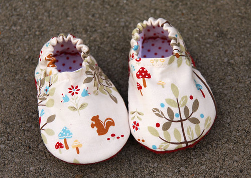 Lecien baby slippers