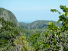 The views of the Vinales valleys.