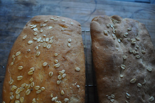 Two Oatmeal Breads I Made