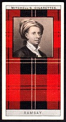 Cigarette Card - Clan Ramsay