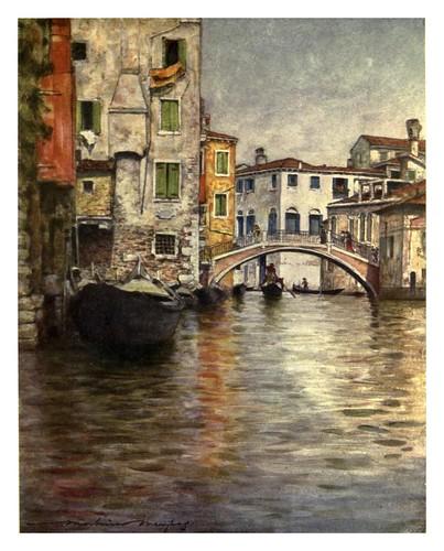 014- Un canal apacible-Venice – 1904-Dorothy Menpes