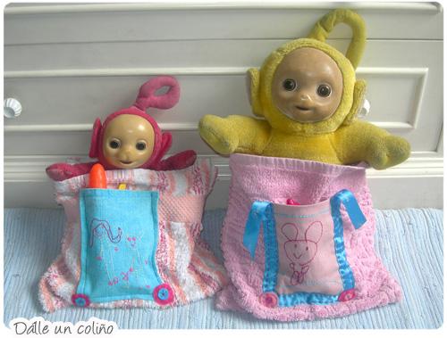 saco de bonecos