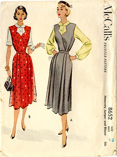 Vintage McCalls 8652 Maternity