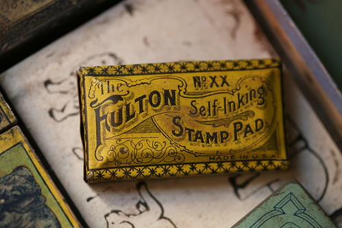 Fulton Self-Inking Stamp Pad