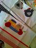 Panos avulsos (Dipano Ateliê) Tags: de galinha pano patchwork prato cozinha jogos tecido aplicação apliqué dipano