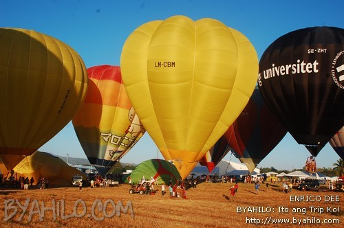 Philippine International hot Air Balloon Fiesta 2011