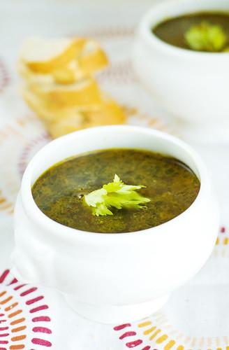 #8 Black beans soup
