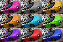 Pick A Color! (Alex Weber) Tags: beach alex car speed sedan shot florida miami g south spot best exotic 28 35 lamborghini luxury rare coupe fastest weber gallardo supercars 18mm lambo 560