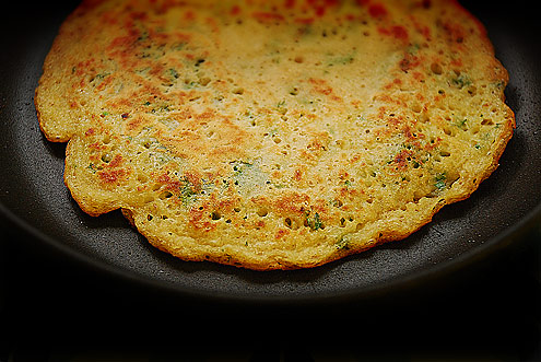 Parsley Pikelet