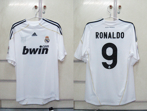 Real Madrid 2009/2010 Home S/S (RONALDO)