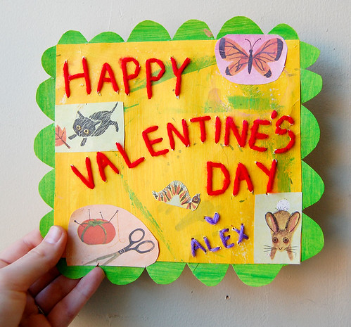 Handmade Valentine // From Alex