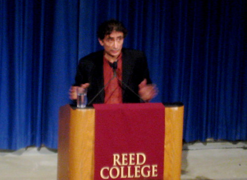 Gabor Mate. Reed 2/12/2010