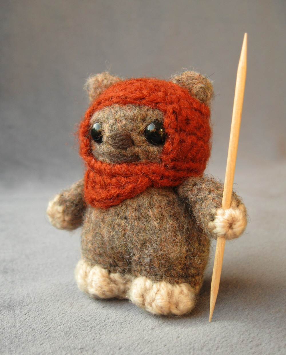 Amigurumi Ewok by LucyRavenscar / All Rights Reserved