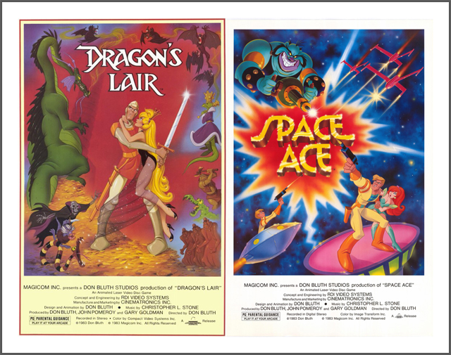 Dragon's Lair - Space Ace posters