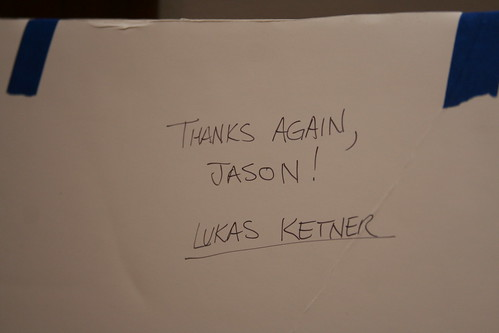 No, thank YOU Lukas