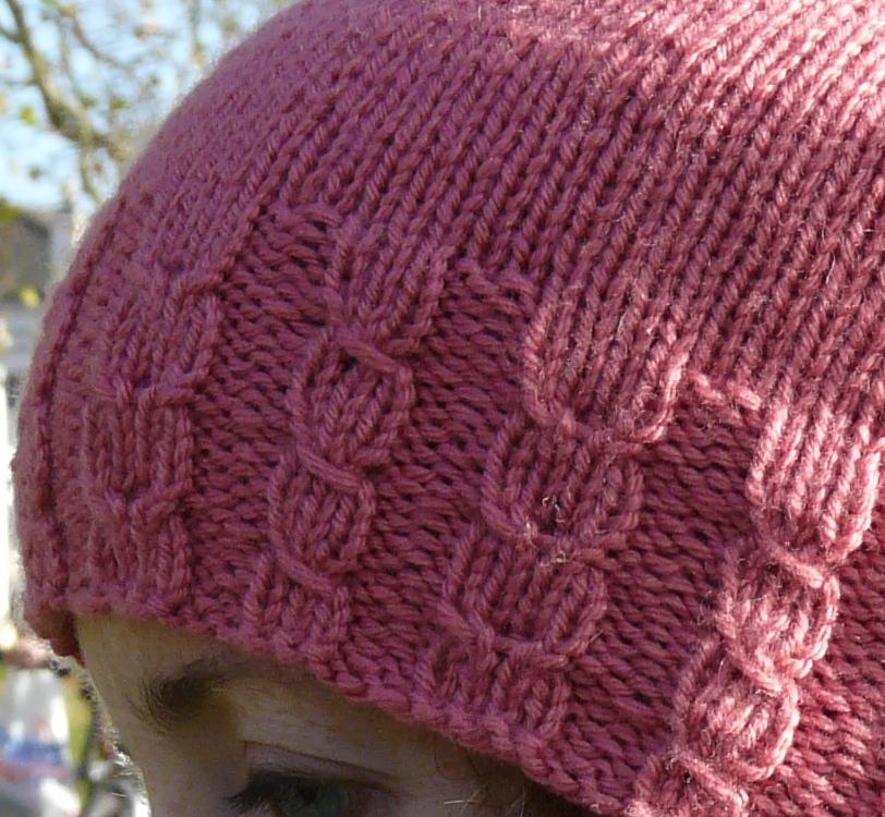Knitting Stitch M1f : something about knitting: Sophisticat Hat