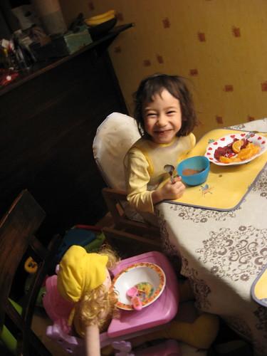 petit déjeuner avec ta grande soeur