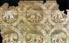 lion passing motif Sasanian cloth 7th-8th c (julianna.lees) Tags: ancient silk textiles sassanian