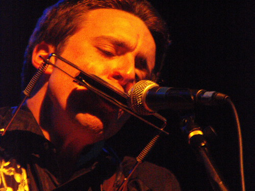 Joe Pug harmonica