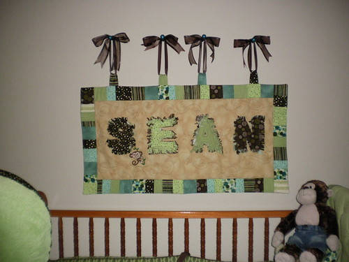 Sean's Name Wall Hanging