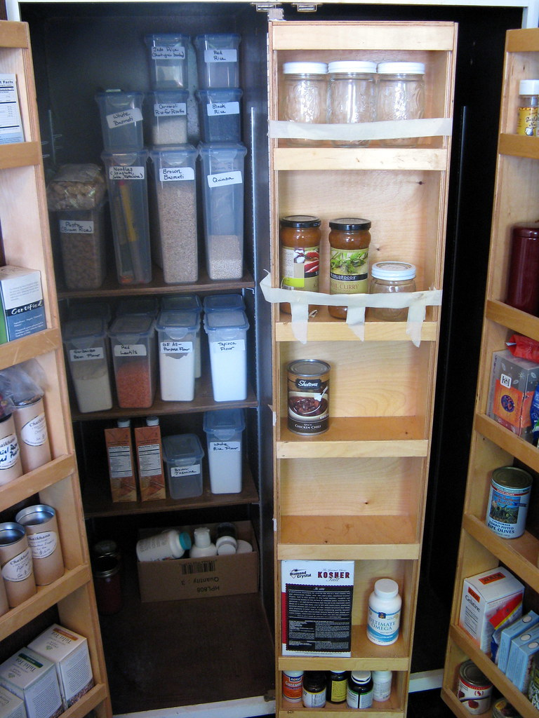 Left Side of the Pantry (Inside), Before