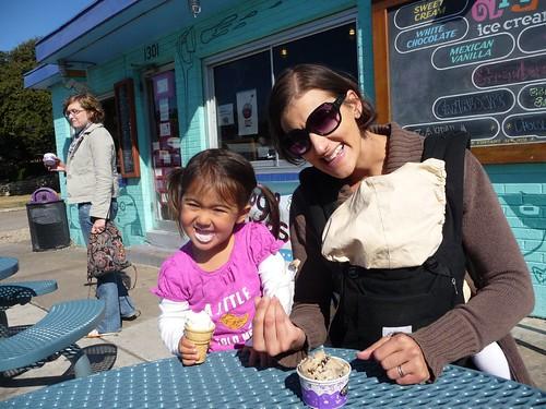 amy's ice cream.