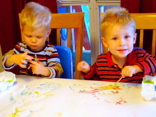 Yogurt Paint!