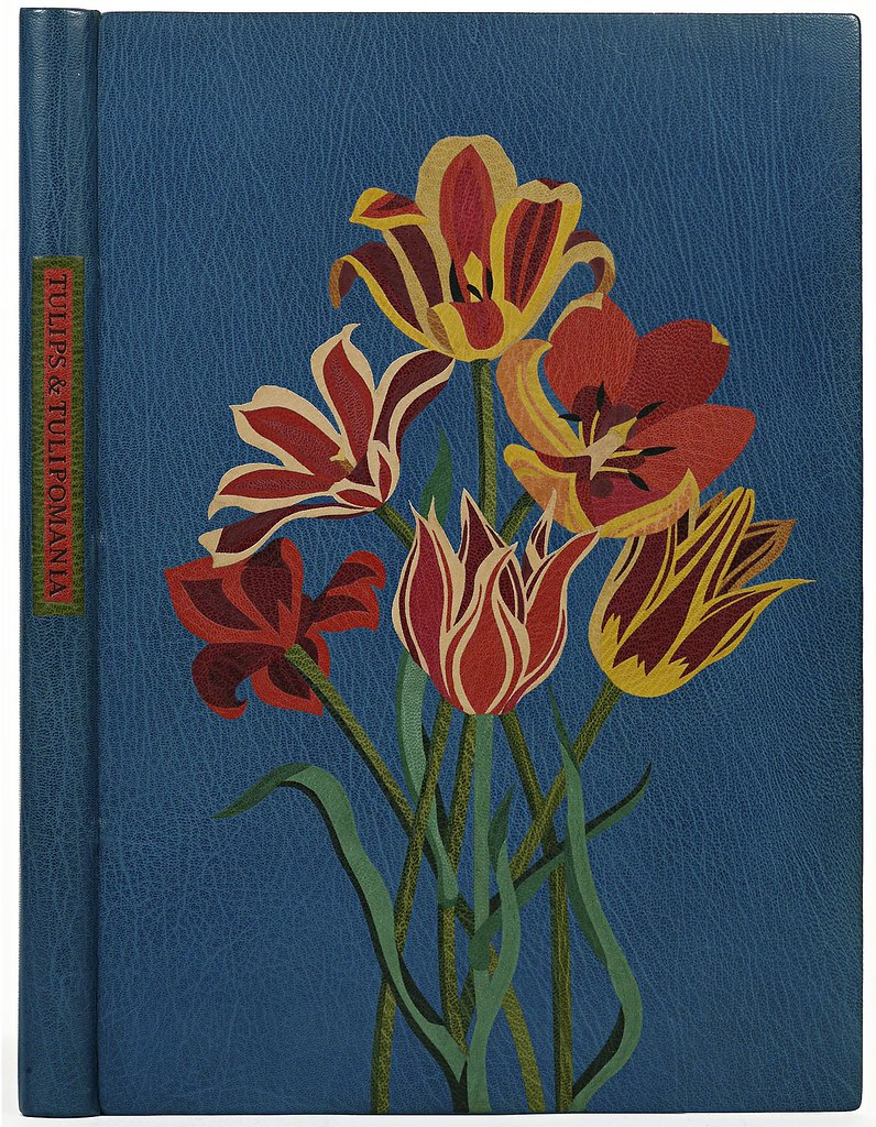 Jean Gunner 'Tulips and Tulipomania' (morocco leather) 1982 - USA