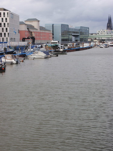 Cologne harbour