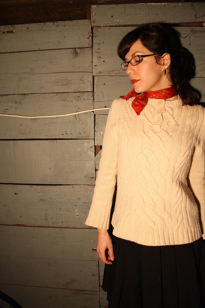 P sweater