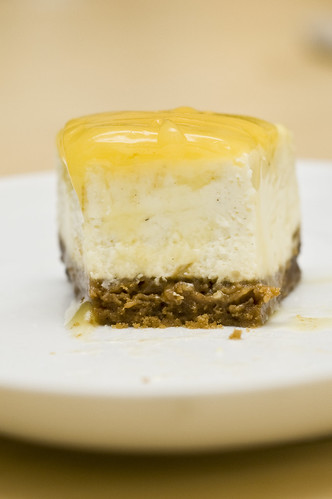 food for rugby fans - 12 - Lime Cheesecake with Lemon Curd Topping