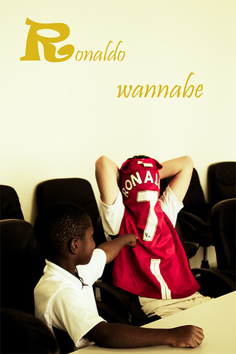 Ronaldo Wannabe ;)