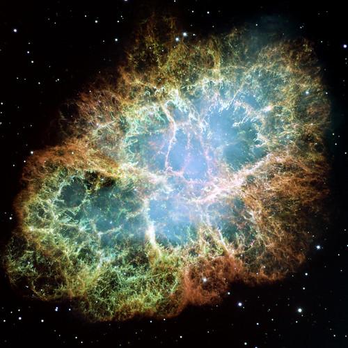 フリー画像| 自然風景| 宇宙/スペース| M1 かに星雲|        フリー素材|