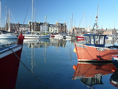 Arbroath  harbour (brucecoull) Tags: water marina boats scotland harbour angus arbroath