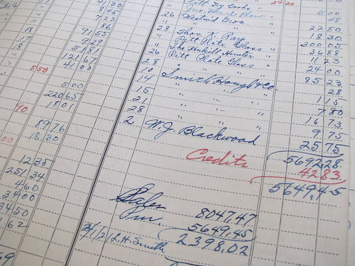 1918 Liberty Weekly Income Record and Income Tax Record 04