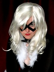 Tallest Silver as Black Cat: Portrait (Roxanna Meta) Tags: comics costume comic cosplay marvel xcelsior blackcattallestsilver