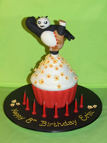 Kung-Fu-Panda Cupcake